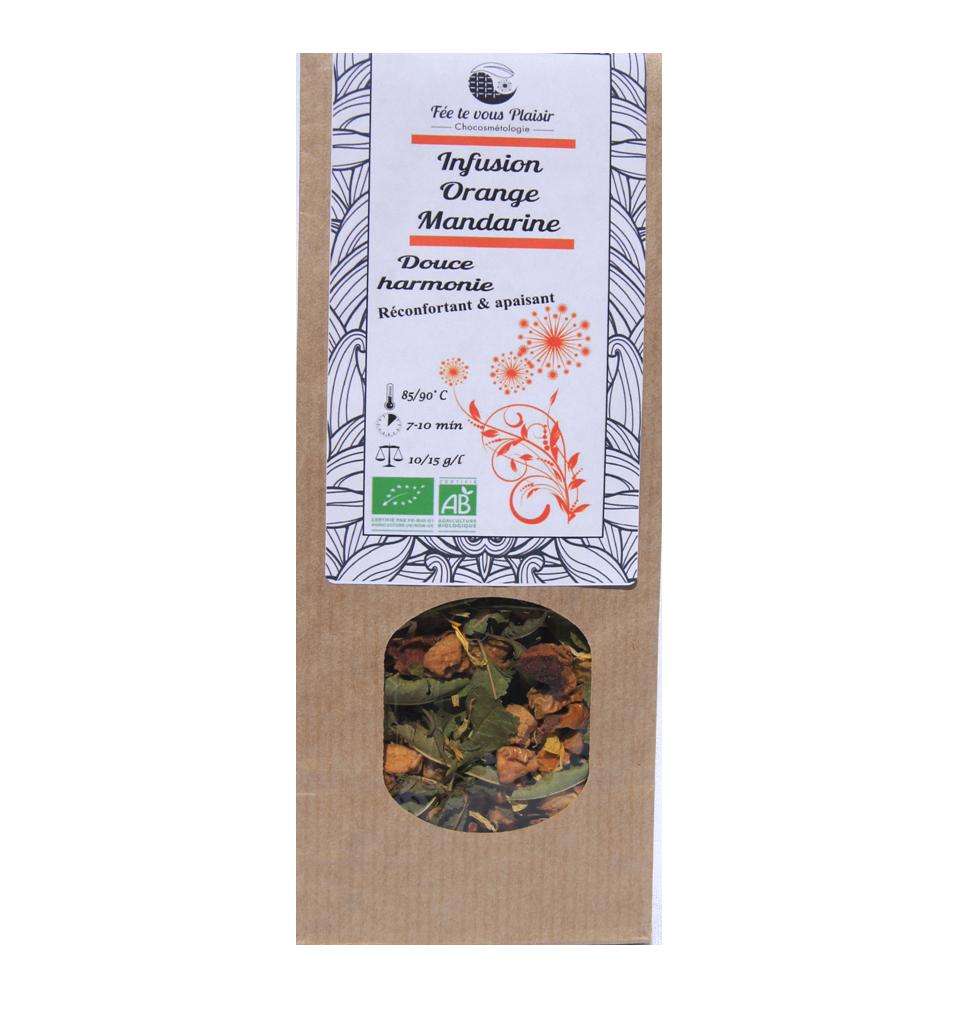 Infusion orange-mandarine Bio
