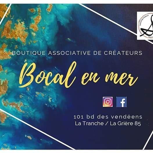 Boutique de créateur, le Bocal en Mer à la Grière plage (85)