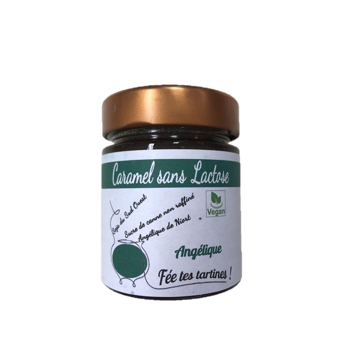 Caramel sans lactose à l'Angélique de Niort