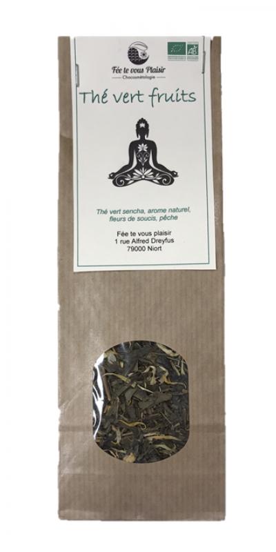 thé vert fruits